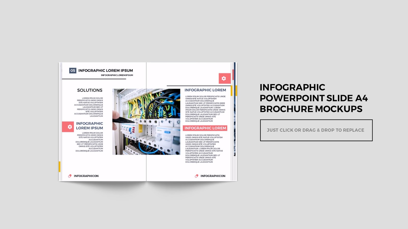 multi page brochure template free multi page brochure mockup free powerpoint template
