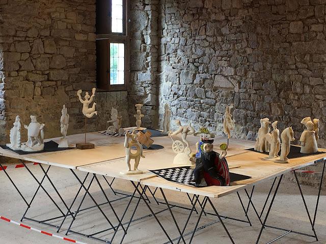 Brigitte Rio, Tarot, Arcanes, sculpture, jeu, installation, brigitterio