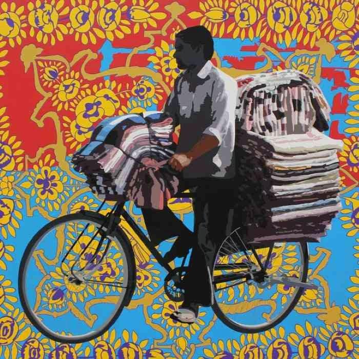 Современный индийский художник. Sohan Jakhar