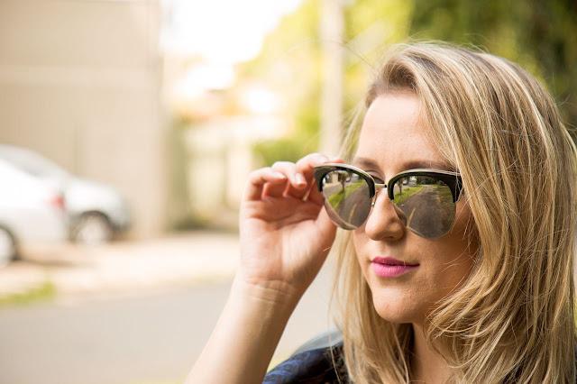 óculos de sol das blogueiras