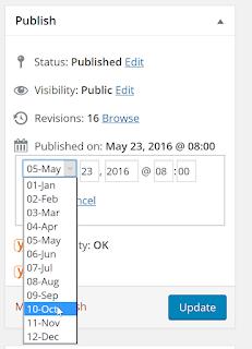 ganti tanggal wordpress