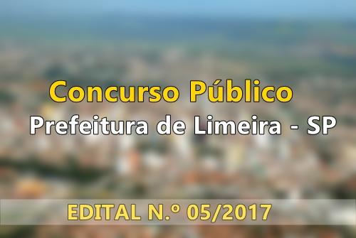 Apostila Concurso Prefeitura de Limeira - SP 2017