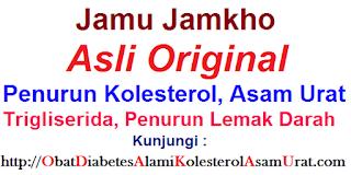 obat Jamu Jamkho untuk menurunkan kolesterol secara cepat alami tradisional