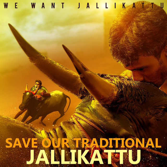 Show your Support for Jallikattu #JusticeforJallikattu