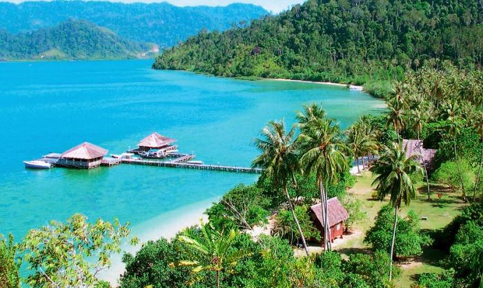 Pulau Cubadak Padang