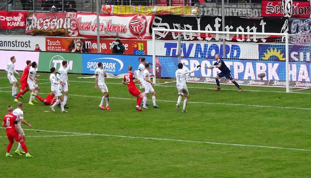 Niederlage HFC 3. Liga