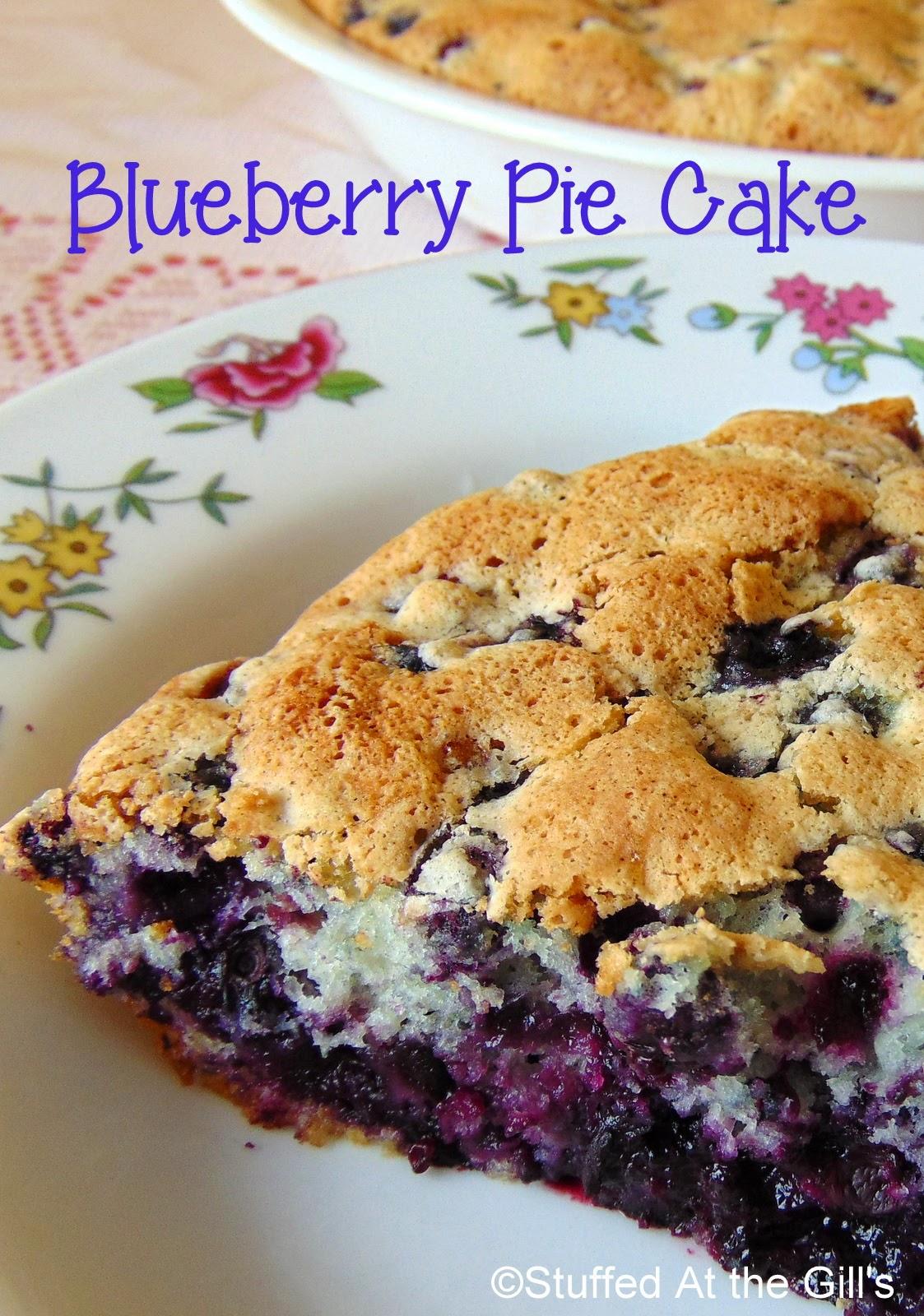 Blueberry Pie/Cake