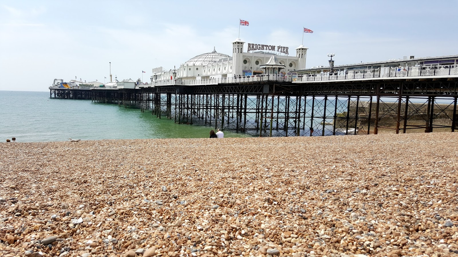 Brighton Pier, Beaches, Pebble Beaches