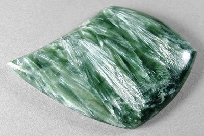 The Feathery Gemstone Seraphinite