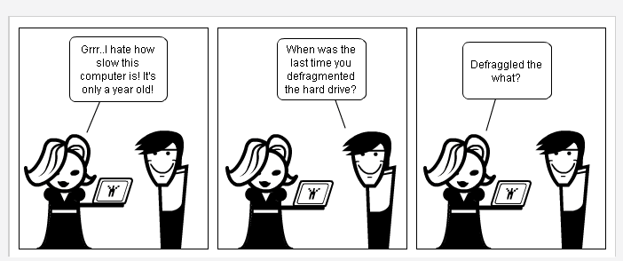 Defragment Your Hard Drive For Greater Performance