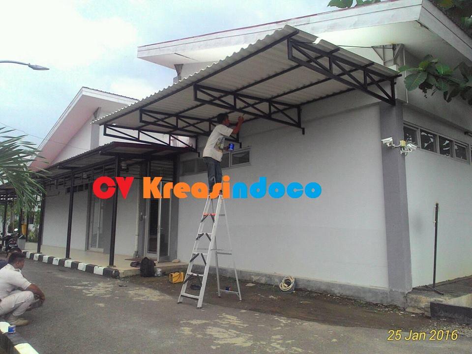 jasa pemasangan baja ringan di depok atap alderon , roftop dan sun panel