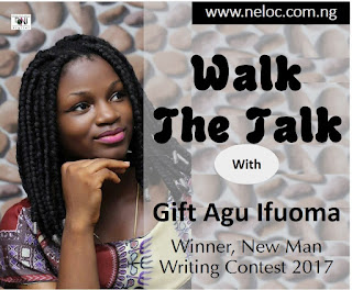 I started writing at the age of five- Gift Agu, winner, New Man Writing Contest 2017