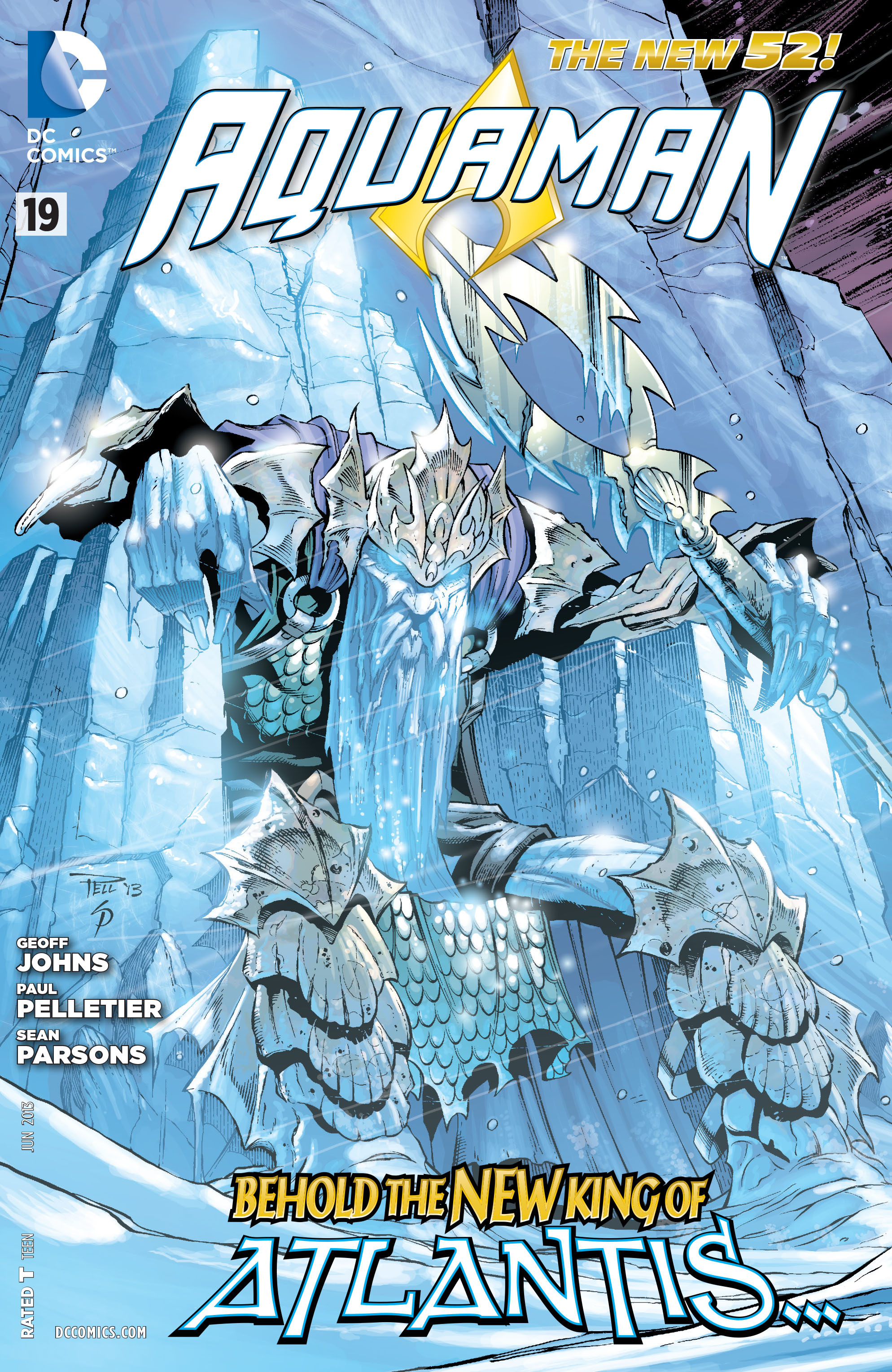 Read online Aquaman (2011) comic -  Issue #19 - 1