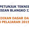 Juknis Pengisian Blangko Ijazah Tahun 2016