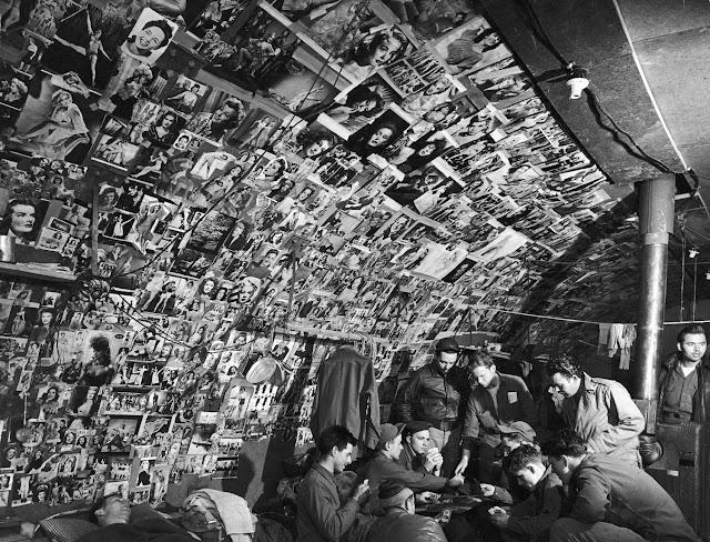 Pin-ups, Adak Island, Aleutians, Life magazine, 1943 worldwartwo.filminspector.com