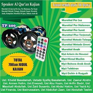 Speaker Al Qur'an Kajian Tp 200 16 Giga