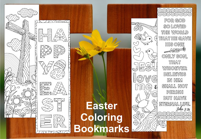 Christian coloring for Easter