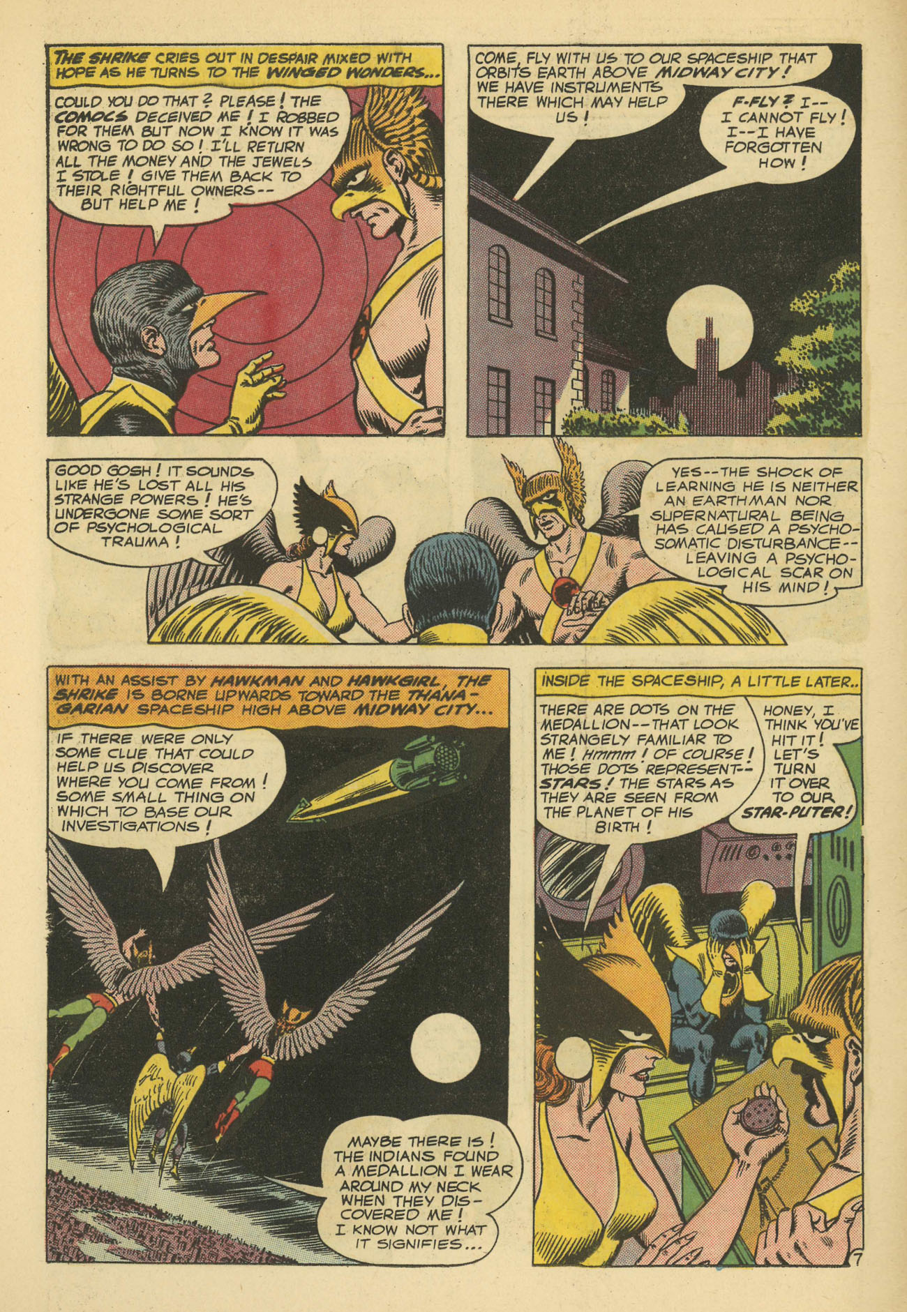 Hawkman (1964) issue 11 - Page 10