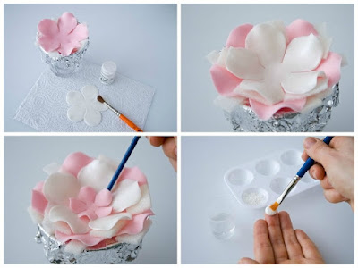 Цветы из мастики пошагово: фото мастер-классы