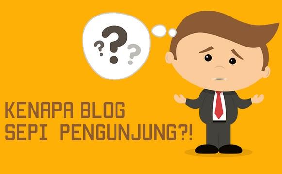 Penyebab dan Cara Mengatasi Blog Sepi Pengunjung