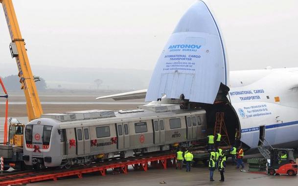 """Kokpit Antonov An-225 """"Mriya"""""""