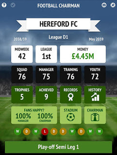 Game Football Chairman Pro MOD APK 1.1.5 Unlimited Money