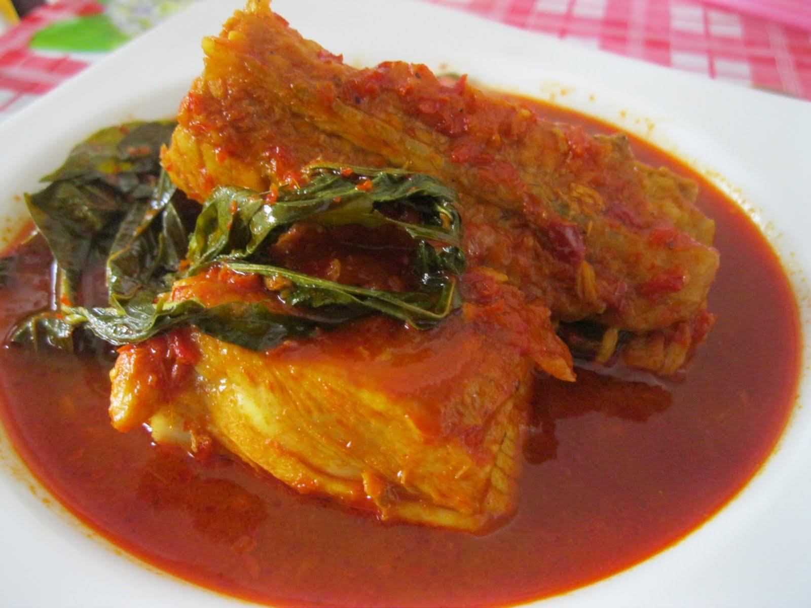 dapur maklong masak asam pedas ikan pari Resepi Ikan Pari Bakar Melaka Enak dan Mudah