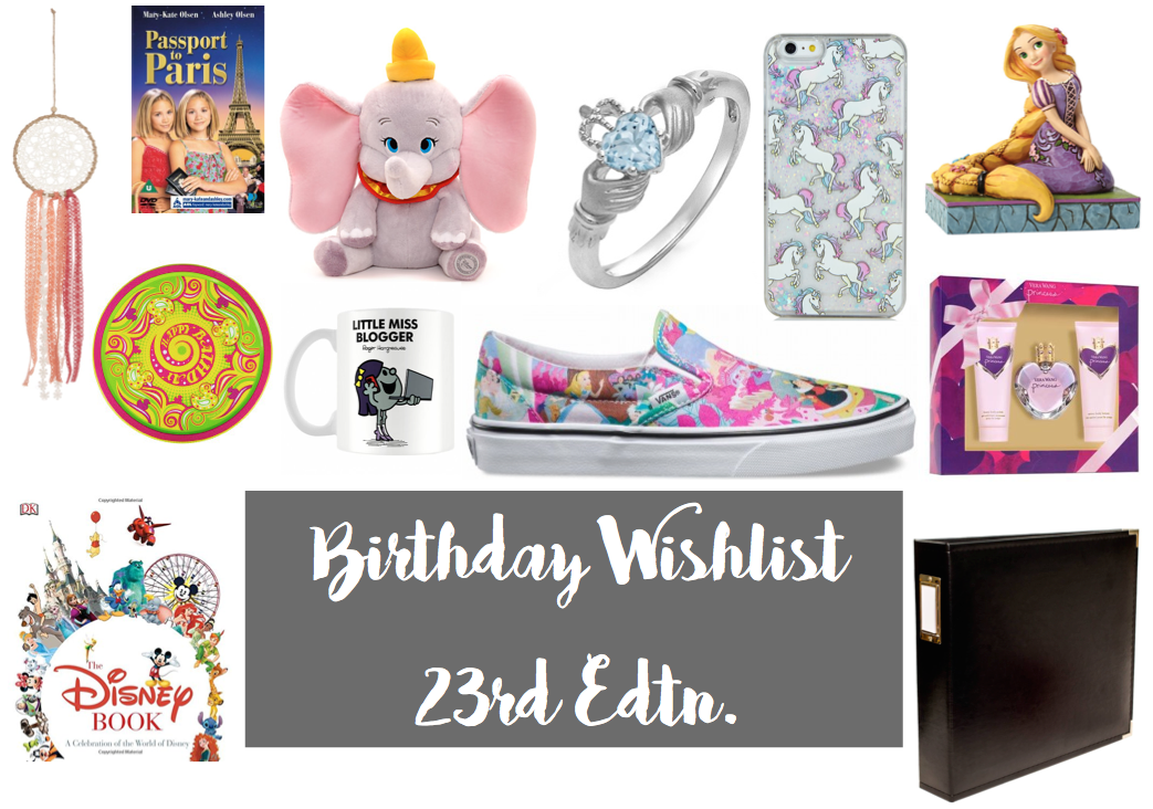 See The Stars - 23rd Birthday Wishlist