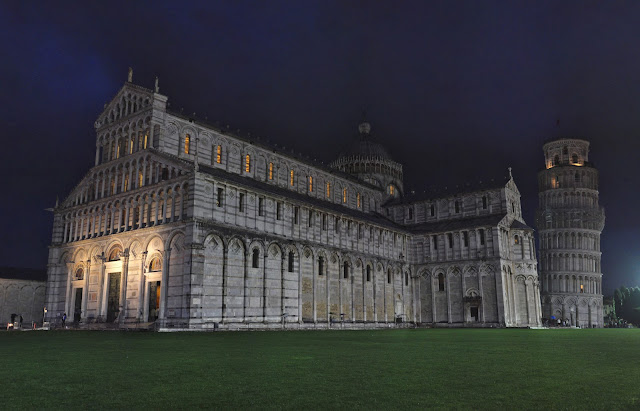 Duomo di Pisa by night #architecture #pisa #italy #travel