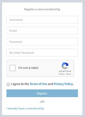 How to create account on Ambani URL