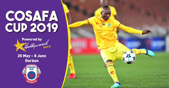 Khama Billiat strikes the ball on the volley