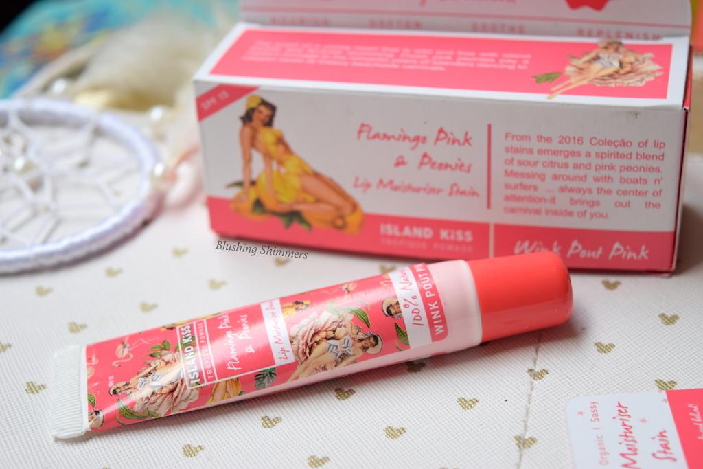 Island Beauty-Wink Pout Pink Lip Moisturizer