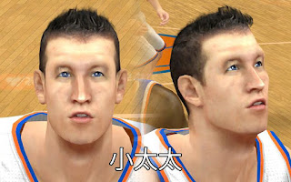 NBA 2K13 Mods - Steve Novak Cyber Face Patch