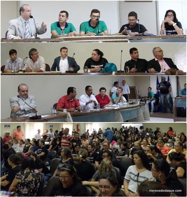 Servidores pressionam governo municipal durante Audiência Pública sobre débito da previdência