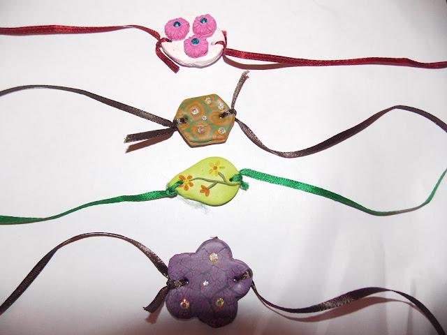 handmade Rakhis