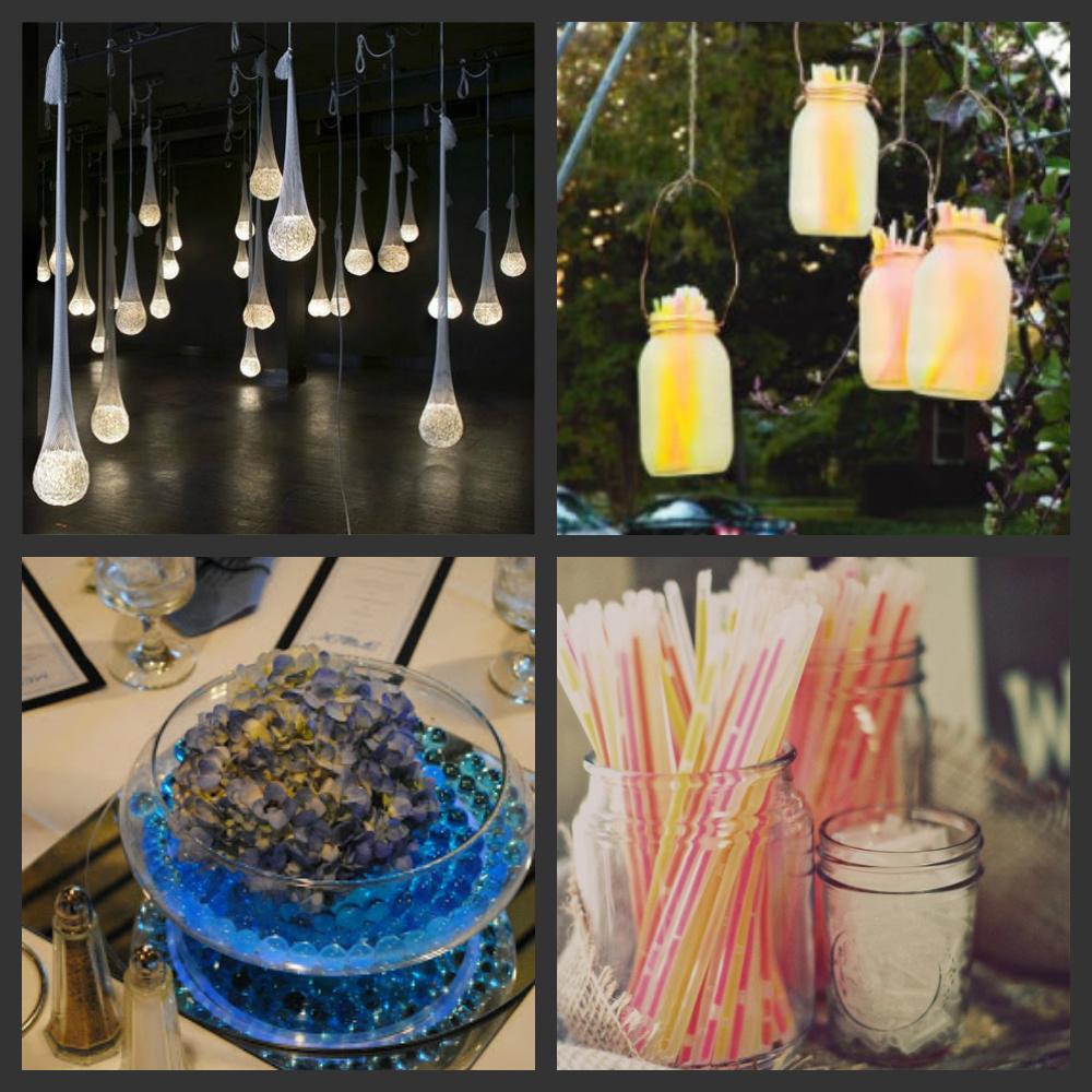 Fun Outdoor Wedding Ideas: Weddings Are Fun Blog: Creative Ways To Use Glow Sticks In