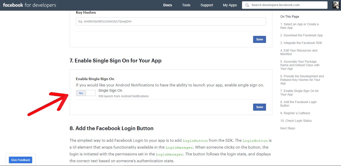 Integrate Facebook and Google Authentication using Firebase
