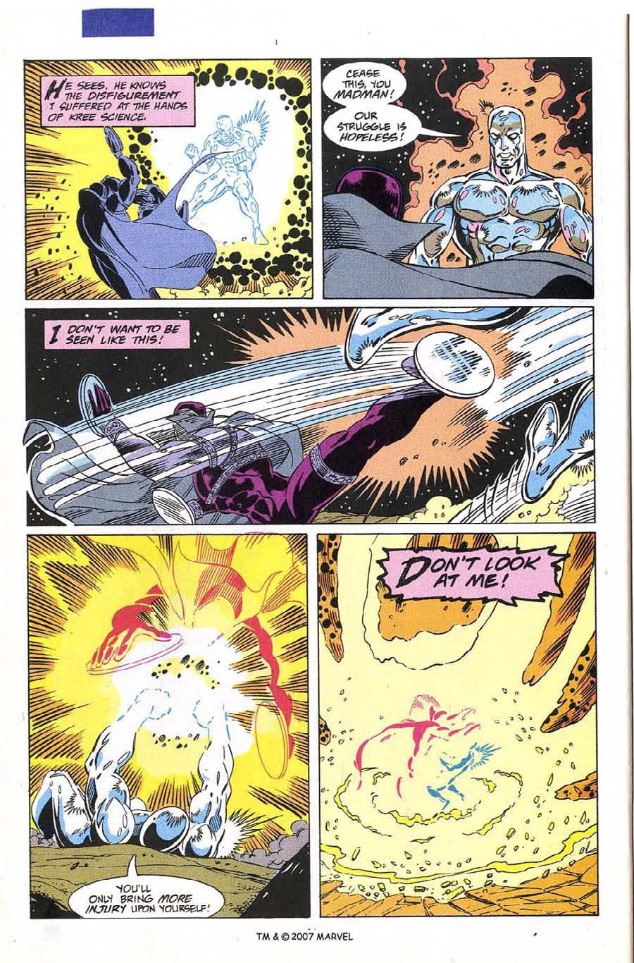 Read online Silver Surfer (1987) comic -  Issue #60 - 26