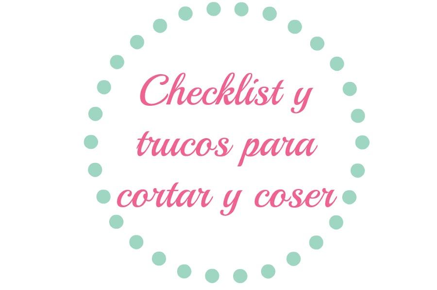 Mi Checklist para cortar y coser | Manualidades