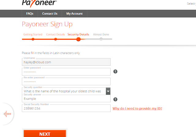 How to get payoneer MasterCard and earn $25 free