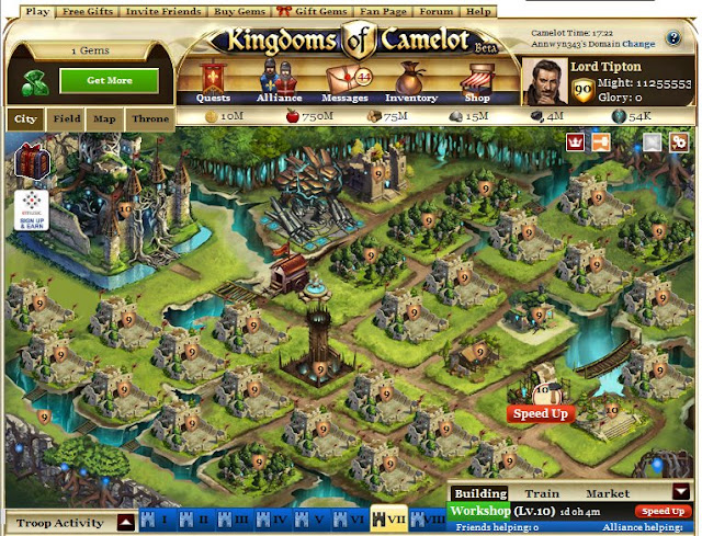 Kingdoms Of Camelot Gems: How to in Kingdoms of Camelot on ... on merlin map, runes of magic map, mabinogi map, elsword map,
