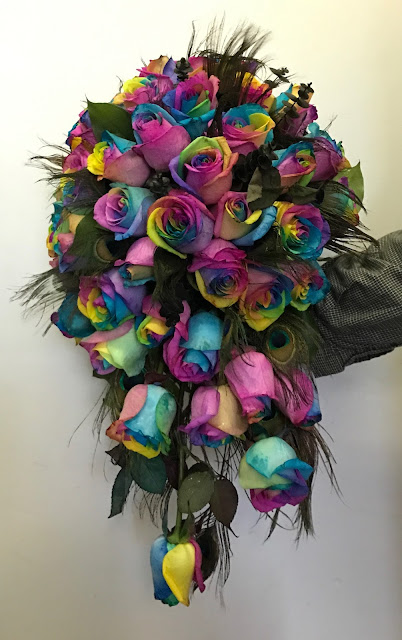 Rainbow Rose LGBTQ Wedding - Stein Your Florist Co.