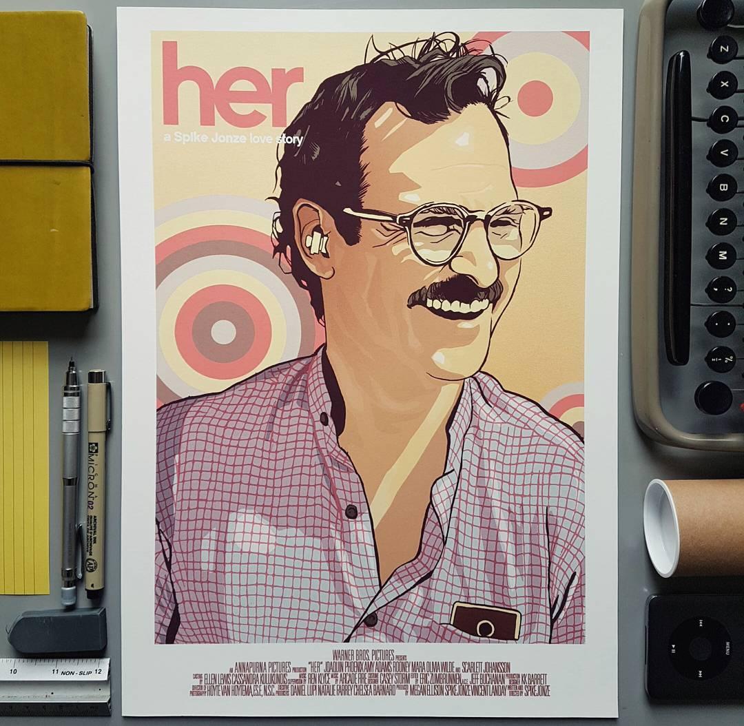 Her Joaquin Phoenix print