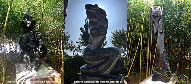 Esculturas em pedra, BACALHÔA BUDDHA EDEN