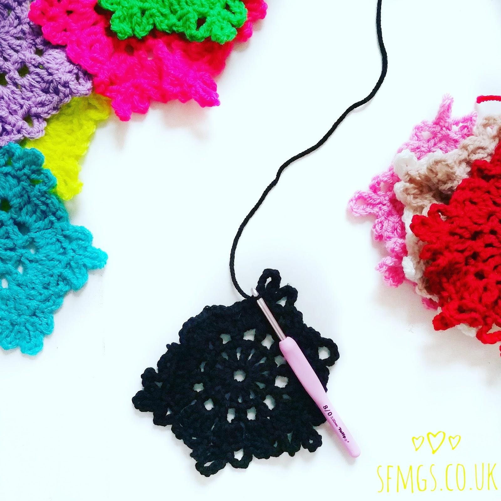 snowflake crochet christmas free pattern