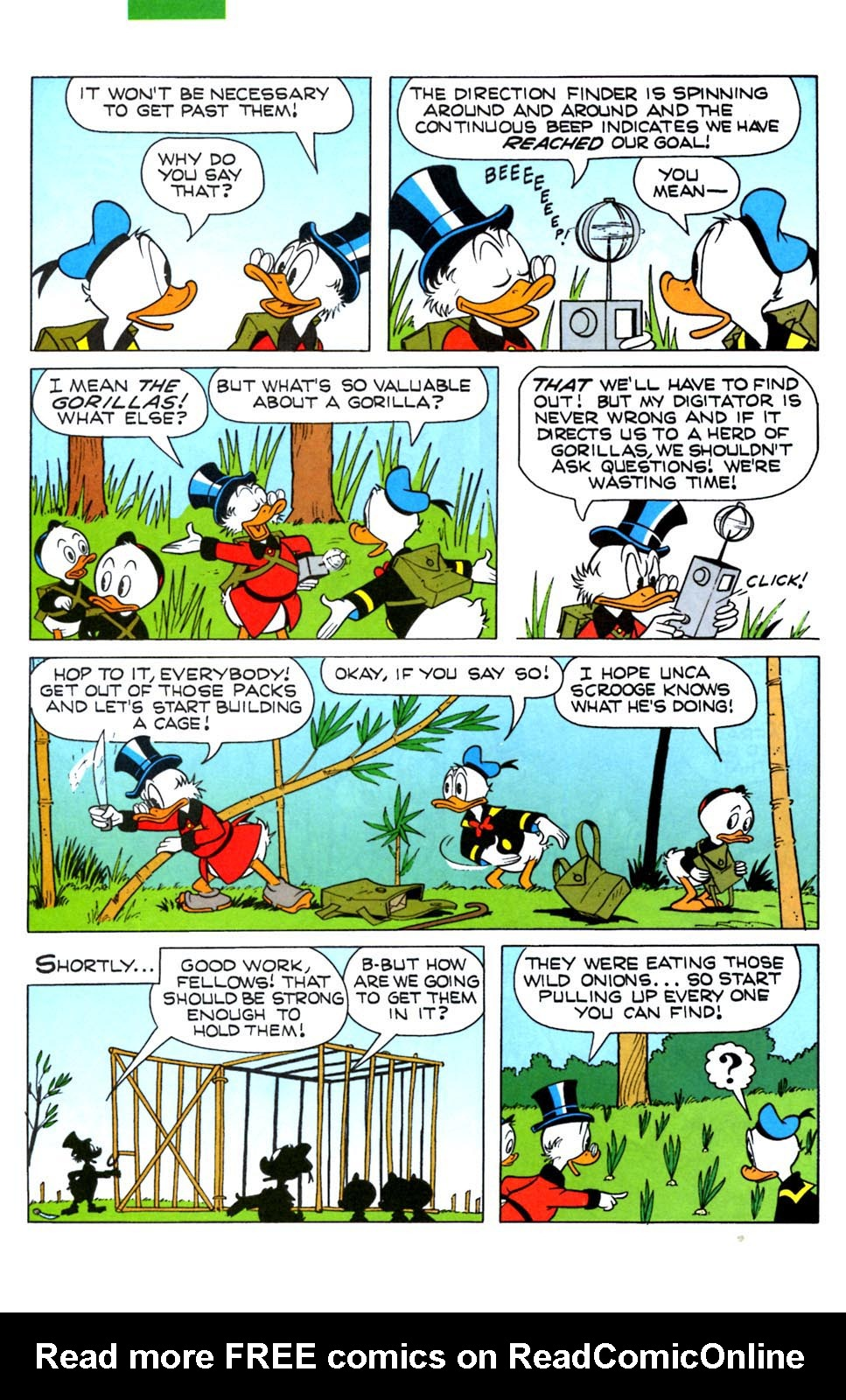 Read online Uncle Scrooge (1953) comic -  Issue #288 - 24