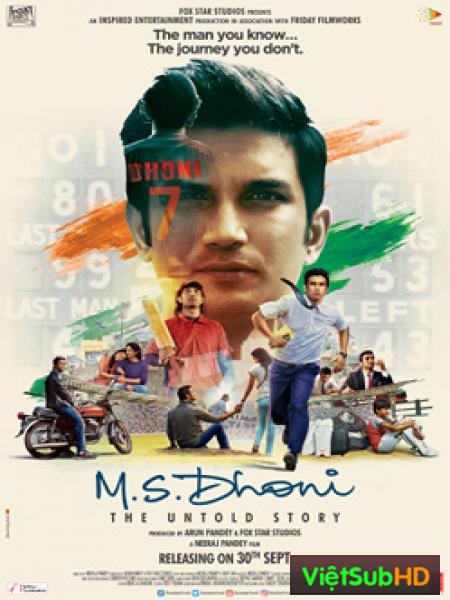 M.S. Dhoni : Chuyện Chưa Kể