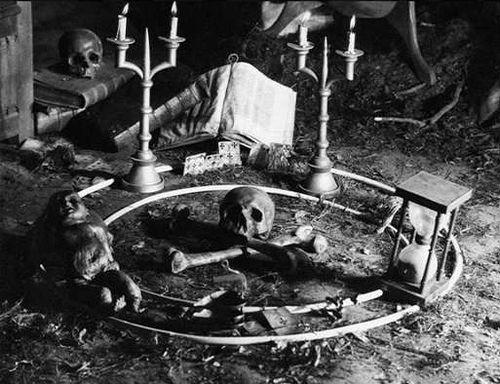 Imagem de Haxan, filme mudo do século 20