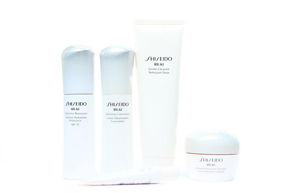 shiseido ibuki soins visage avis test