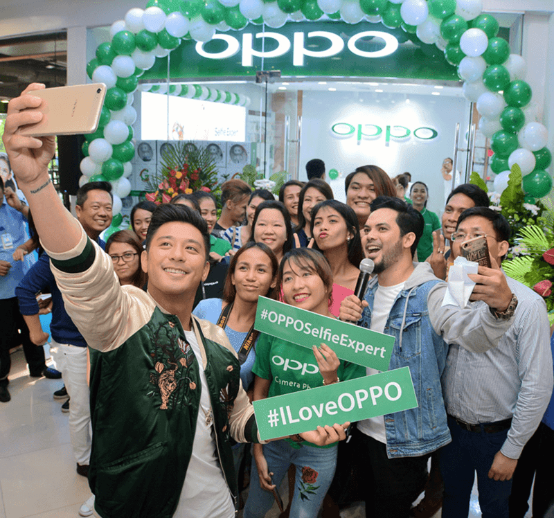 OPPO Opened 4th Concept Store In Cebu!